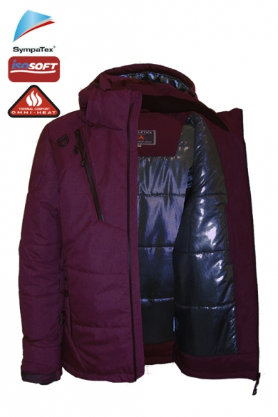 Модель 6171 цвет-бордо