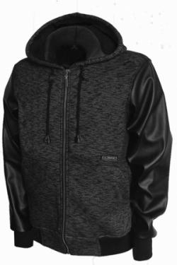 Модель 3481 цвет:черный (рукав - экокожа)